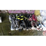 Supply of old shoes and clothes