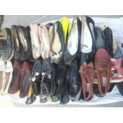 used mixed sorted shoes