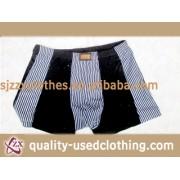 Dubai free grade cream used clothes Underwear door to door
