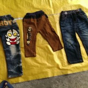 Used clothes trousers for children ladies and men