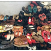 used men and women sports shoes