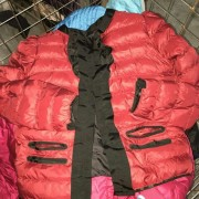 used ladies cotton thick jacket second hand clothes
