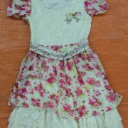 Manufacturers supply old summer clothing, a silk dress