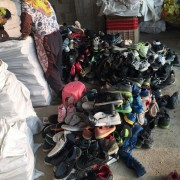 Offer used shoes, second hand shoes