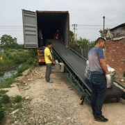 Loading container used clothing
