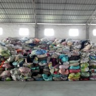 Second-hand clothes raw materials