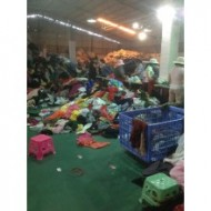 Guangzhou second-hand clothes sorting plant