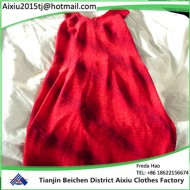 best quality summer used ladies silk dress used clothing