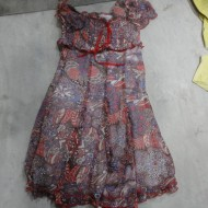 Guangdong area of China Low export second-hand women's skirts, silk dress