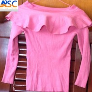 Wholesale In Toronto Ladies Long Sleeve T-shirt High Quality Credential Used