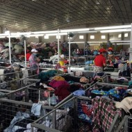 Export of second-hand clothes factory in Guangzhou