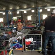Guangzhou used clothing factory