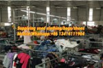 used cloth sorting factory