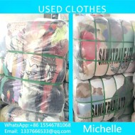Best quality grade A used clothes big quantity selling