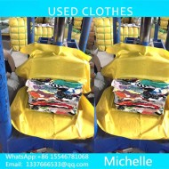 Guangzhou exports to Africa in the second hand summer clothing