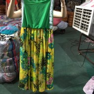 Exported to Dubai, Middle East, Africa boutique second-hand dress