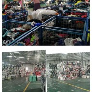 Secondhand clothing for Africa in summer   Guangzhou factory