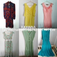 used lady silk dress