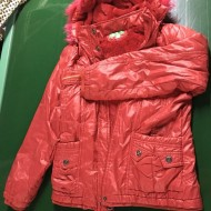 Used Cotton-padded Jacket for Man and Woman