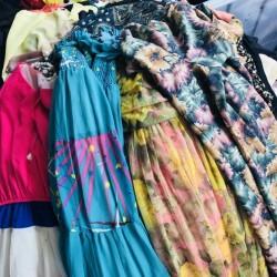 silk delicate dress