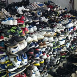 Large stock used shoes export to Uganda, Kenya