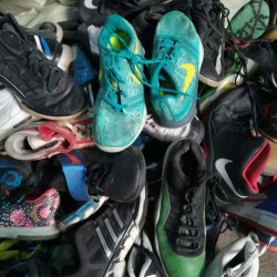 High quality used shoes export to Africa market