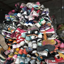 Fashion second hand shoes decent price packed in sacks