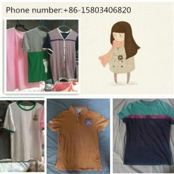 fashion and clean second hand men t-shirt for hot sale
