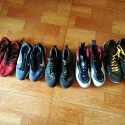 Best selling second hand shoes for Southeast Asia