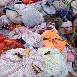 many used clothes