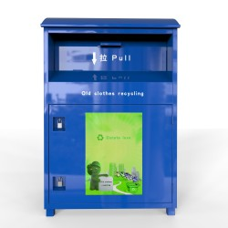 clothes recycling bin factory