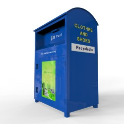 blue type recycling bin factory