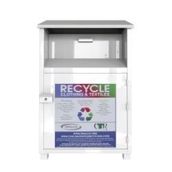 thick metal recycling bin