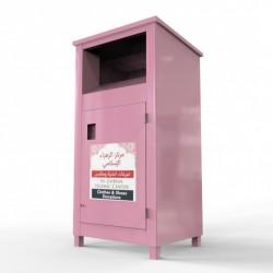 metal bin clothes recycling bin factory