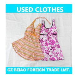 used clothing export