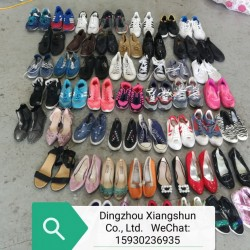 Fashion design second hand shoes for sale
