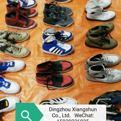 Best price grade A used shoes for Africa market