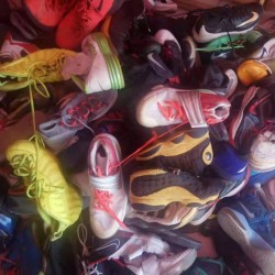 Supplying genuine brand-name old shoes (Nike, Adidas, JORDAN) which can be inspected and verified at