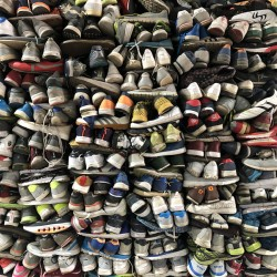 High quality second-hand shoes with sufficient supply