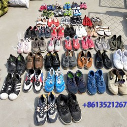 Good quality used sport shoes export mix shoes from factory