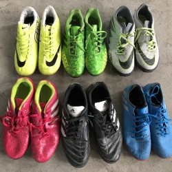 Good quality used soccer shoes
