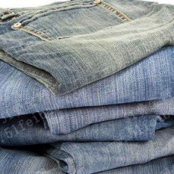 Comfortable used jeans