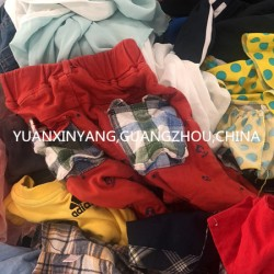 various of quality second hand clothes