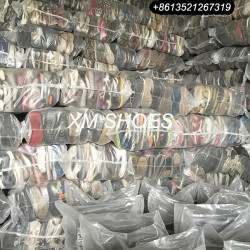 Cream quality colourful mixed used shoes in bales export used sport shoes containers from Hebei Chin