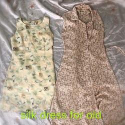 silk dress for older