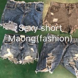 Fashion saxy short maong-B  for Southeast Asia