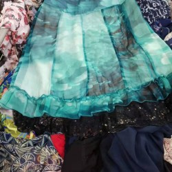 Lady's silk skirt