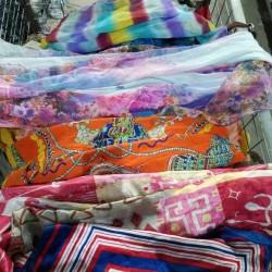 used  silk scarves
