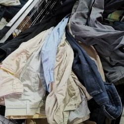 100% men cotton pants