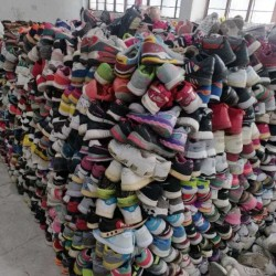 Hefei strength manufacturers specializing in the export of old shoes